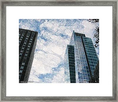 Higher Sight Framed Print by Aeabia A