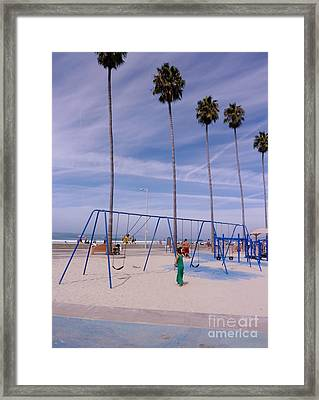 Higher  Framed Print by Susan Garren