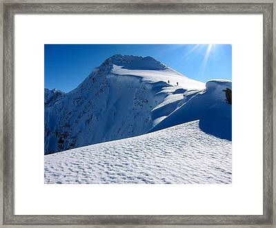 Highest Cornice Framed Print
