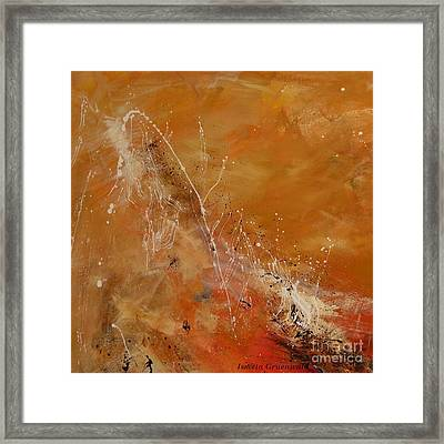 Highest Time 1  - Abstract Art Framed Print