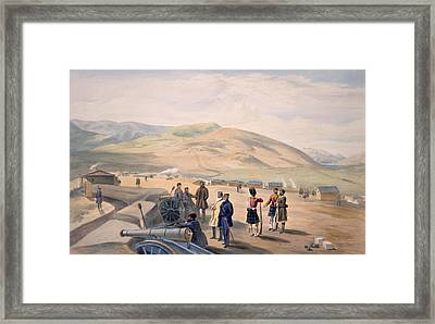 Highland Brigade Camp, Plate From The Framed Print