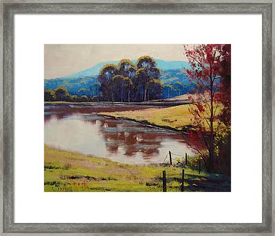 Highland Dam Framed Print by Graham Gercken