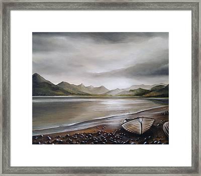 Highland Evening Framed Print by Sean Afford
