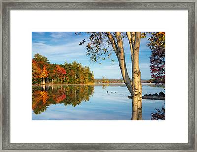 Highland Lake Framed Print