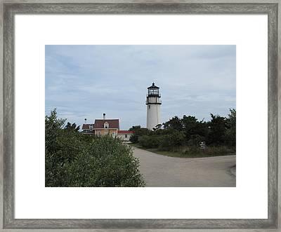 Highland Light Aka Cape Cod Light Framed Print