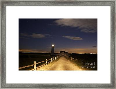 Highland Light North Truro Framed Print