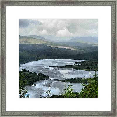 Highland Loch At Lochaber Framed Print