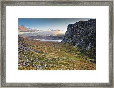Highland Pass Framed Print