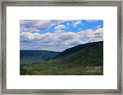 Highland Peace And Serenity Framed Print by Rachel Cohen
