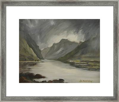 Highland Storm Framed Print