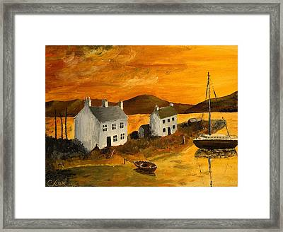Highland Sunrise Framed Print