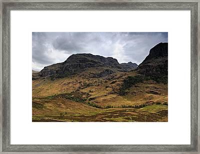 Highland View Framed Print