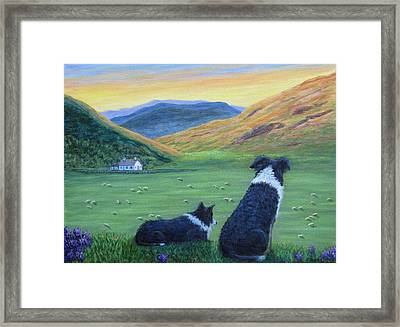 Highland Watch Framed Print