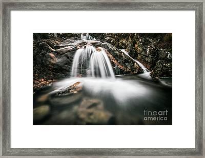 Highland Waterfall Framed Print