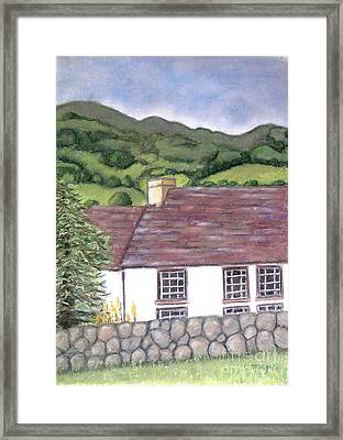 Highland Farmhouse Framed Print
