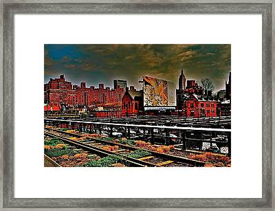 Highline Nyc Framed Print