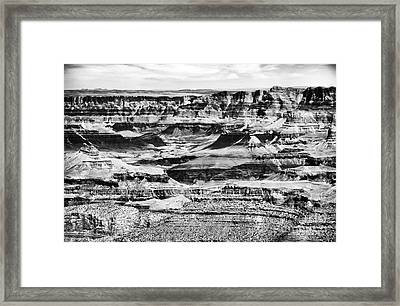 Highs And Lows Framed Print by John Rizzuto