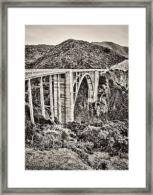Highway 1 Framed Print by Heather Applegate
