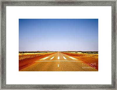 Highway 1 Western Australia Framed Print by Colin and Linda McKie