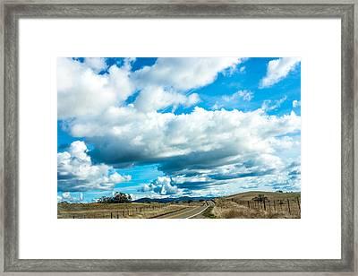 Highway 132 Framed Print by John Crowe