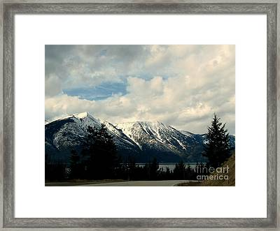 Highway 3a Wonders Framed Print by Leone Lund