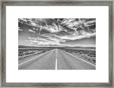Highway 64 Framed Print