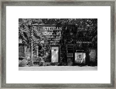 Highway Americana Since 1918 Framed Print