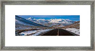 Highway Ca Usa Framed Print
