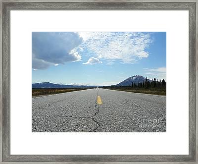 Highway Framed Print by Jennifer Kimberly