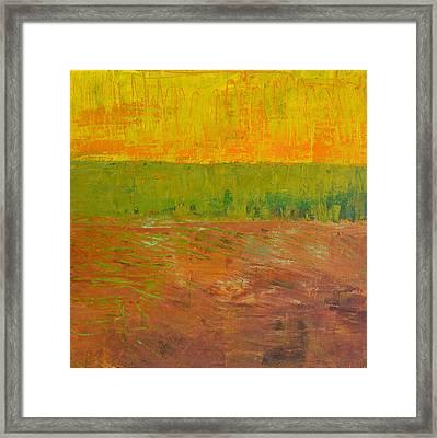 Highway Series - Soil Framed Print