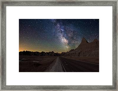Highway To Framed Print by Aaron J Groen