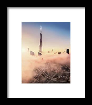 Sunrise Highway Framed Prints