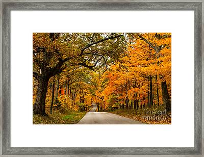 Highway To Heaven Framed Print by Jim McCain