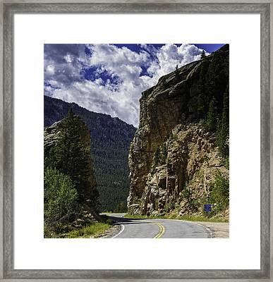 Highway To Heaven Framed Print by Tom Wilbert