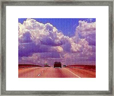 Framed Print featuring the photograph Highway To Heaven Too by Joetta Beauford