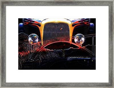 Framed Print featuring the photograph Highway To Hell by Gunter Nezhoda
