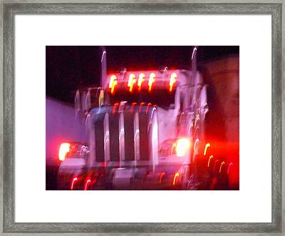 Highway To Hell Framed Print