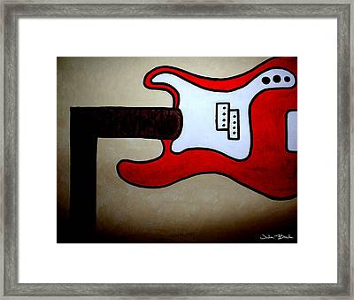 Highway To Hell Framed Print by Julien Boutin