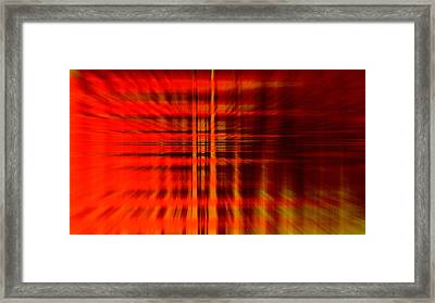 Highway To Hell Framed Print by Steve K