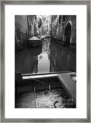 Hidden Corners Of Venice Framed Print by Yuri Santin
