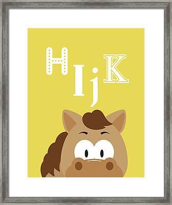 Hijk Animals Framed Print