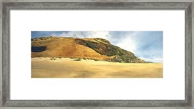 Hiker's Delight Framed Print by Tom Wooldridge