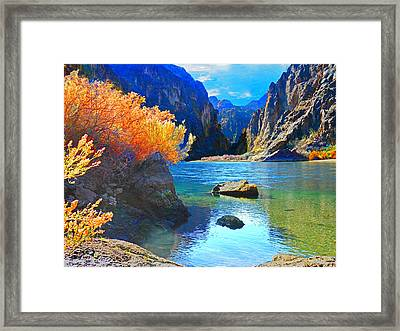 Hikers Haven Two Framed Print by Alan Socolik