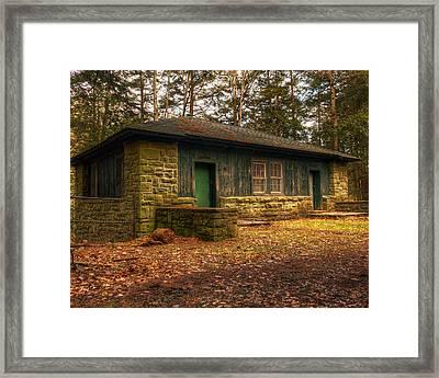 Hiker's Rest Framed Print by Tim Buisman