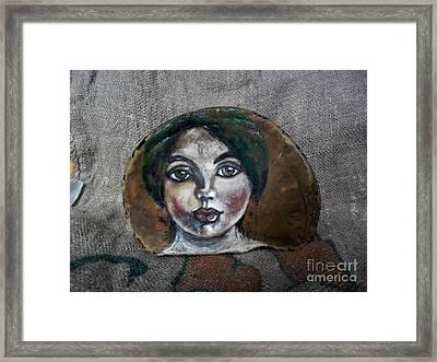 Hilda Framed Print by Ildiko Decsei