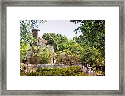 Hill Cottage Framed Print