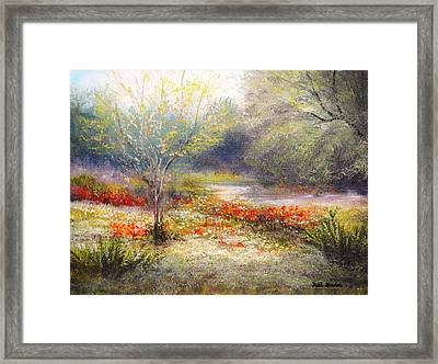 Hill Country Wildflowers Framed Print