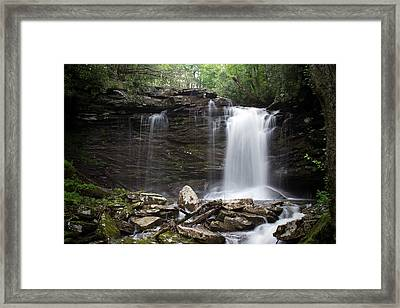 Second Fall Of Hills Creek Framed Print
