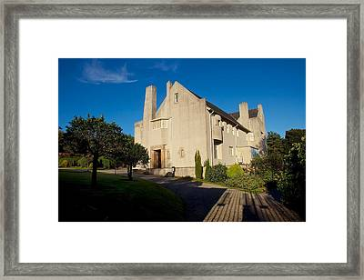 Hill House By Charles Rennie Mackintosh Framed Print