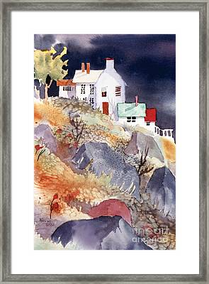 Hill House Framed Print by Teresa Ascone